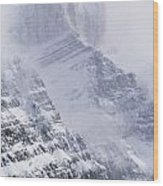 Mt. Chephren, Banff National Park Wood Print