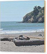 Muir Beach Wood Print