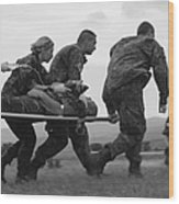 Multinational Medical Personnel Race Wood Print