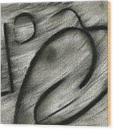 Musical Spells Wood Print