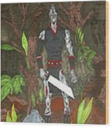 Mutant Beast  Wood Print