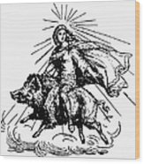 Mythology: Frigg (freyja) Wood Print
