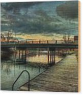 Napanee Harbour  Wood Print
