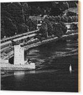 Narrow Water Castle Warrenpoint Wood Print