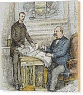 Nast: Civil Service Reform Wood Print