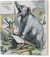 Nast: Tweed Cartoon, 1875 Wood Print by Granger