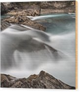 Natural Bridge Yoho National Park Wood Print