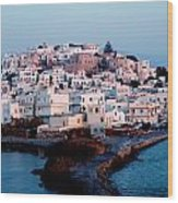 Naxos Island Greece Wood Print