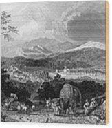 New Hampshire, 1839 Wood Print