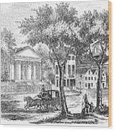 New Hampshire: Portsmouth Wood Print