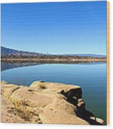 New Mexico Series - Abiquiu Lake Wood Print