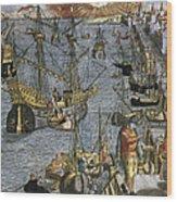 New World: Voyage, 1592 Wood Print