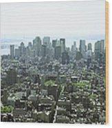 New York City, New York, United States Of America Wood Print