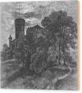 New York State: Castle Wood Print