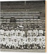 New York Yankees, C1921 Wood Print