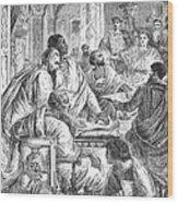 Nicaea Council, 325 A.d Wood Print