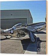 North American P-51 Mustang  Wood Print