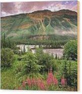 North Saskatchewan River Wood Print