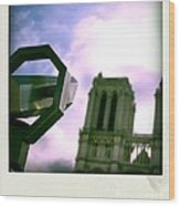 Notre Dame De Paris. France Wood Print
