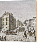 Occupied New York, 1776 Wood Print
