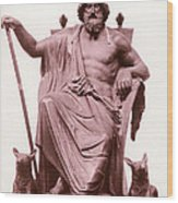 Odin, Norse God Wood Print by Photo Researchers