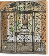 Old Gate Wood Print
