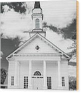 Old Koloa Church Wood Print