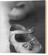 Old Shoes Wood Print by Jane Rix