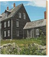 Olson House Wood Print by Theresa Willingham