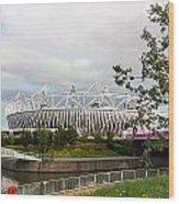Olympic Park Wood Print