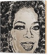 Oprah Winfrey In 2007 Wood Print