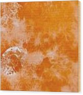 Orange 2 Wood Print