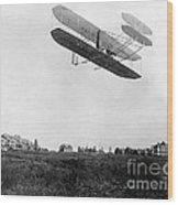 Orville Wright In Wright Flyer, 1908 Wood Print