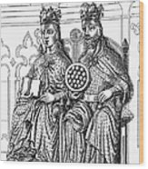 Otto I (912-973) Wood Print