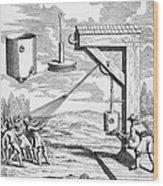 Otto Von Guericke, 1672 Wood Print