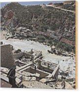 Paliorema Sulfur Mine And Processing Wood Print