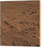 Panoramic View Of Mars Wood Print