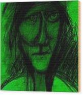 Pastel Man  9 Wood Print