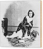 Pauline Cushman (1833-1893) Wood Print