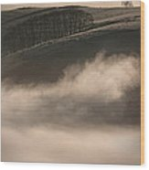 Peak District Landscape Wood Print