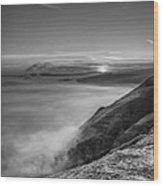 Peak District Sunrise Wood Print