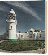 Pendeen Lighthouse Wood Print
