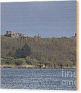 Pendennis Castle  Wood Print