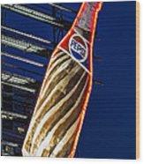Pepsi Cola Bottle Wood Print