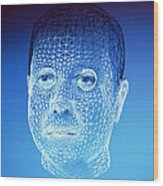 Personalised Virtual Avatar Wood Print