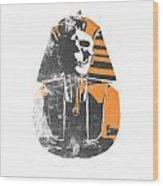 Pharaoh Stencil  Wood Print