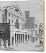 Philadelphia: Theater Wood Print by Granger