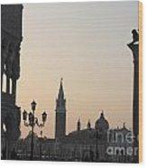 Piazetta. Venice Wood Print by Bernard Jaubert