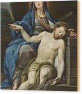 Pieta Wood Print by Italian School