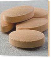 Pills Wood Print